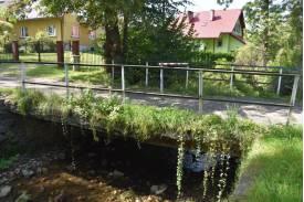Mostek przed rozbiórką. Fot: Tomasz Lenkiewicz